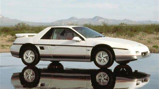 General Motors released the first Pontiac Fiero in