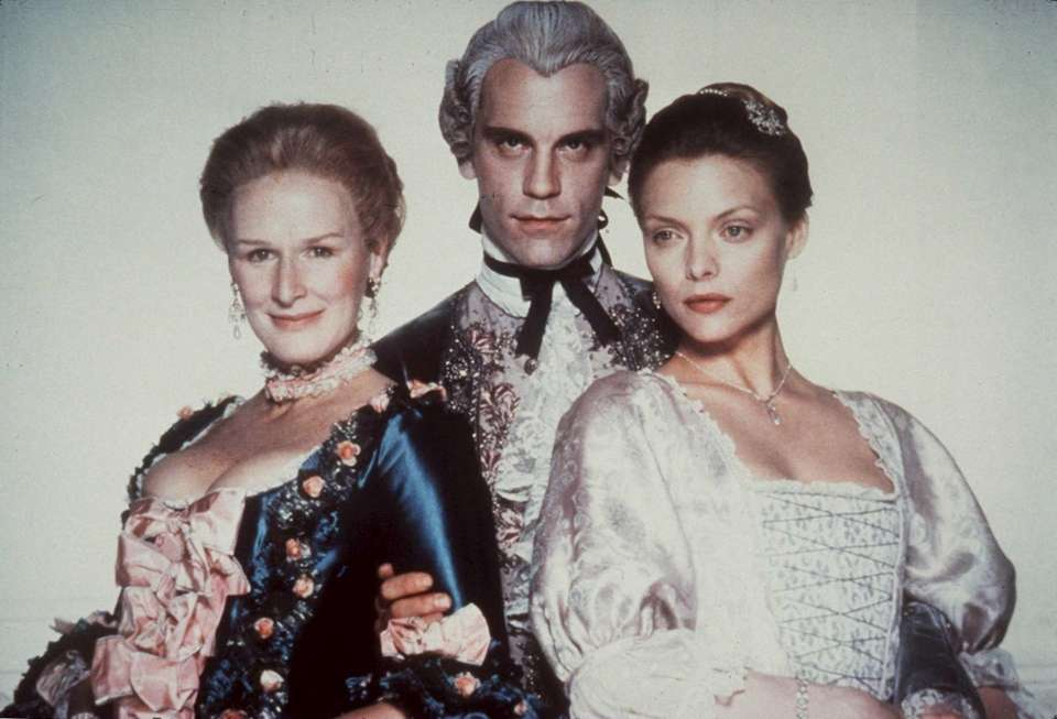 John Malkovich played aristocratic rogue the Vicomte de
