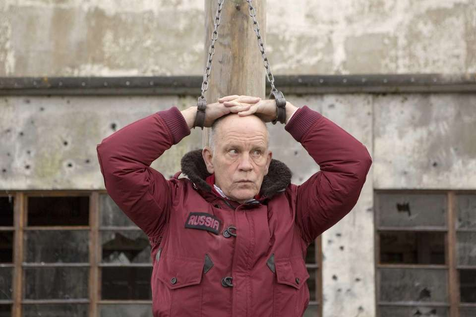 John Malkovich plays Marvin Boggs in