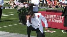 A member of Garden City High School's Class