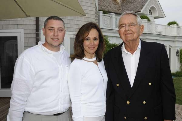Cole Rader, Rossana Scotto and Peter G. Person