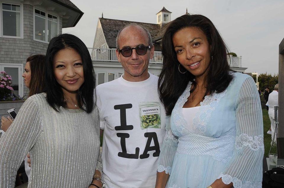 Tina Storper with husband David Storper and Lisa