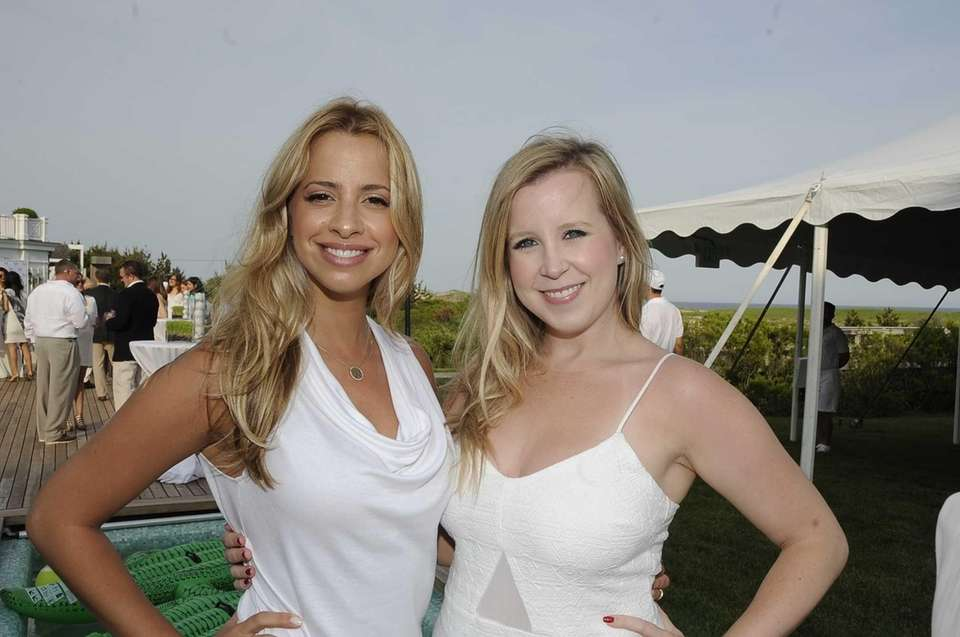 Shany Ellenberg and Hillary Prim are seen at