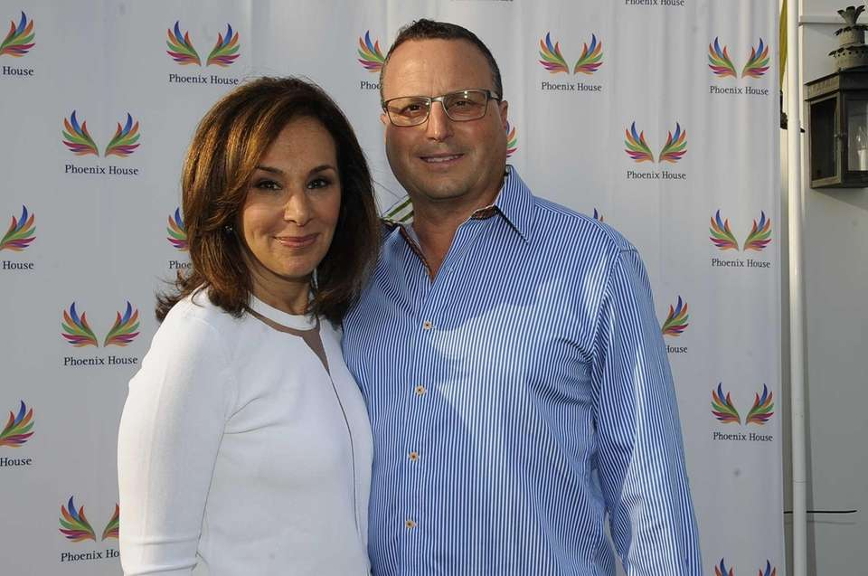 Rosanna Scotto and Lou Ruggiero are seen at
