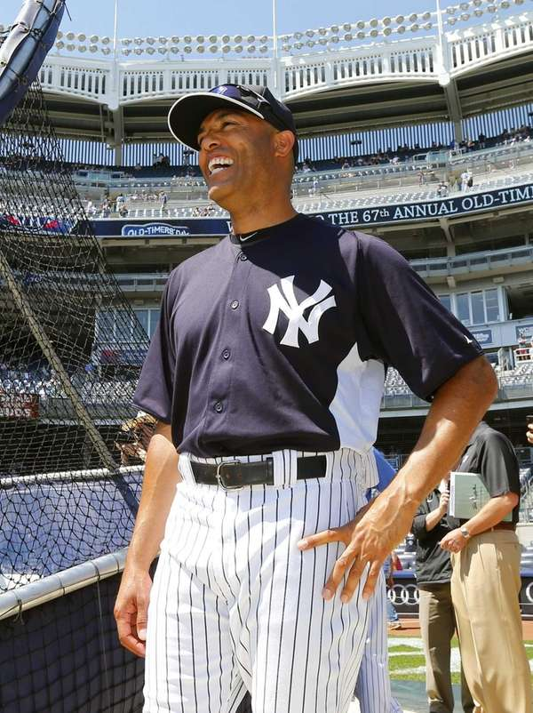 Rivera, 43, has donned the pinstripes for the