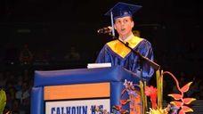 Cancer survivor and 2013 Calhoun High School graduate