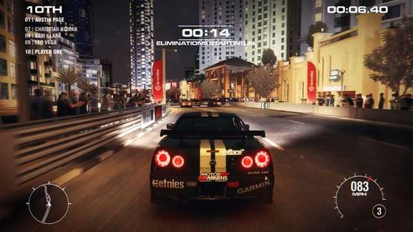 Grid 2, available for PS3, XBox 360 and