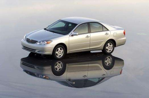 When cars, including the 2004 Toyota Camry, emit