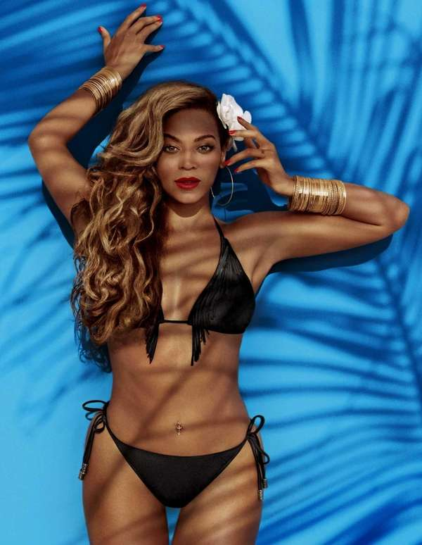 Beyonce models H&M's nod to the fringe fad