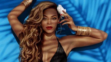 Beyoncé models H&M's nod to the fringe fad