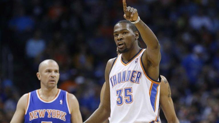 3. Kevin Durant, Thunder