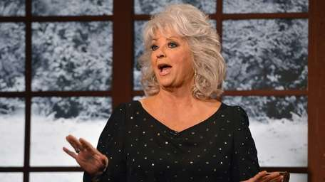 Cooking show host Paula Deen visits the