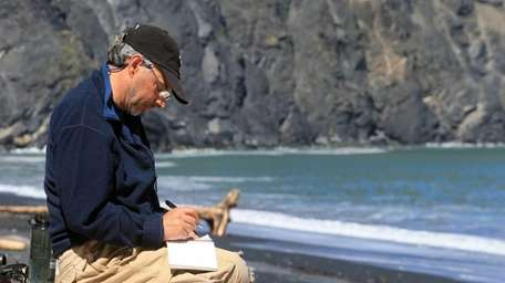 Stony Brook professor Carl Safina recently headed out