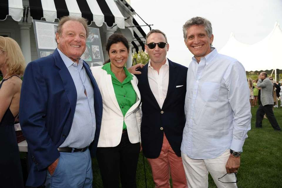 Peter Worth, Noelle Nikpour, Michael Lorber, and Andy