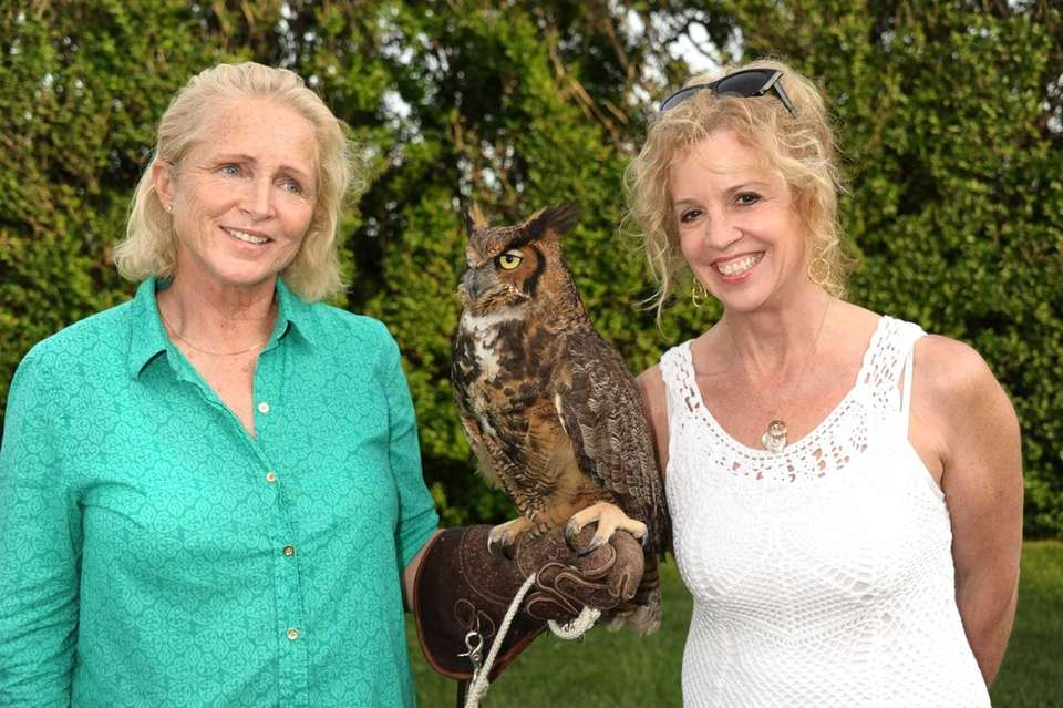 Jane Gill, Great Horned Owl and Jane Hanson