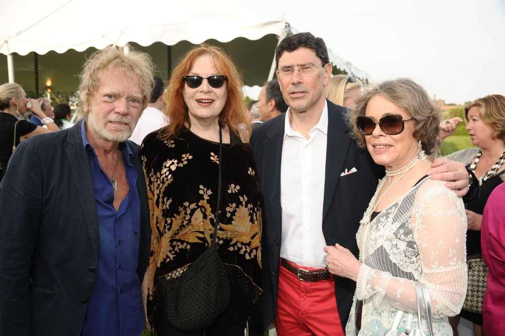 Actor Kevin Conway, Geraldine Newman, Ronald Hoffman and