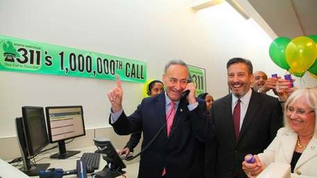 Senator Charles Schumer personally answers the 1 millionth