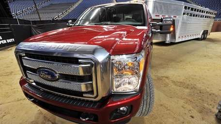 The 2013 Ford F-150 Super Duty has a