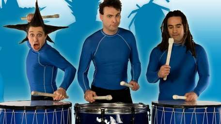 Comedy, drumming and cartoon characters combine in the