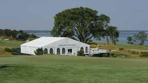 The Nicklaus Pavilion is seen against the backdrop
