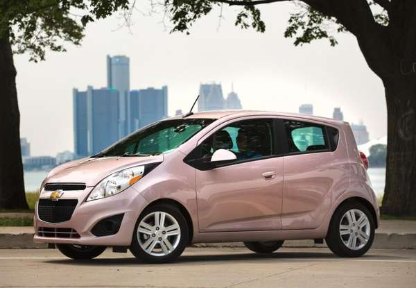 The Chevrolet Spark has a base suggested retail