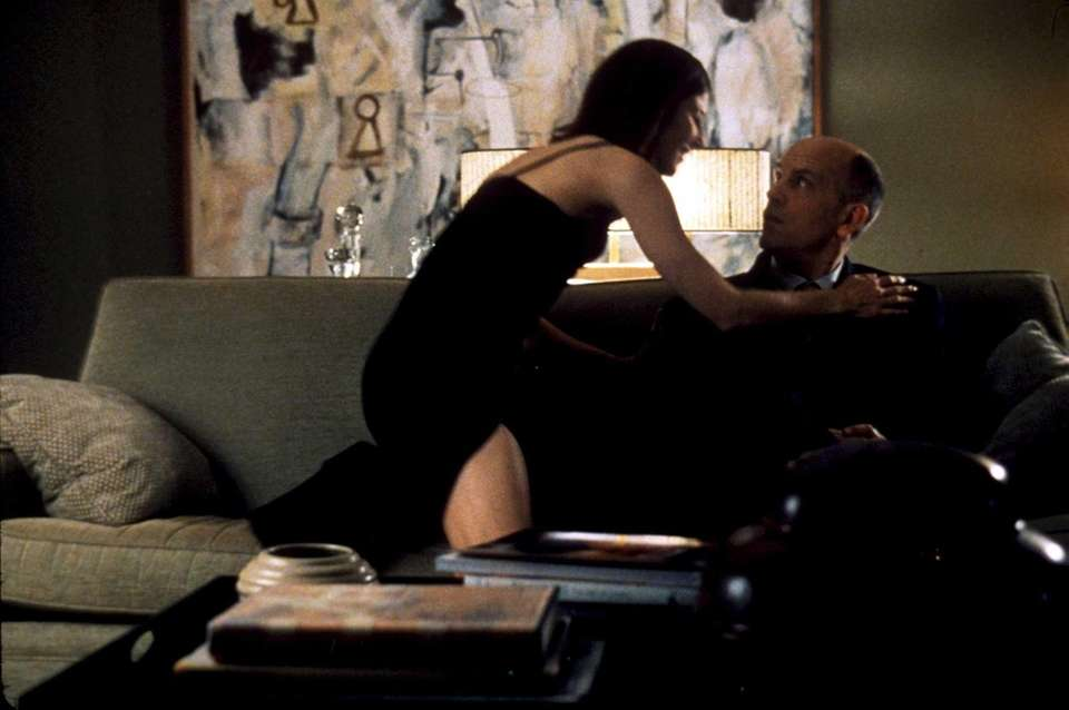 Catherine Keener and John Malkovich in