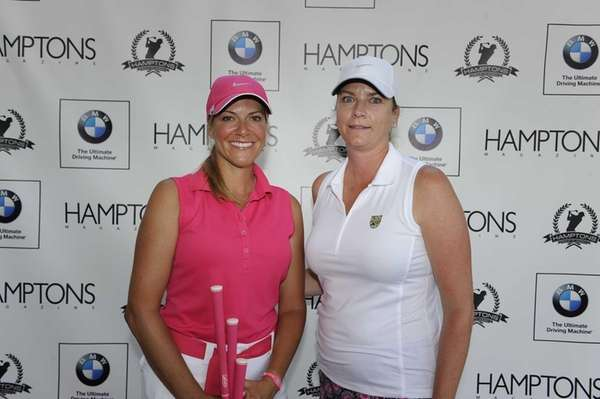 Stephanie Schmiet, left, and Kathleen Brown on the