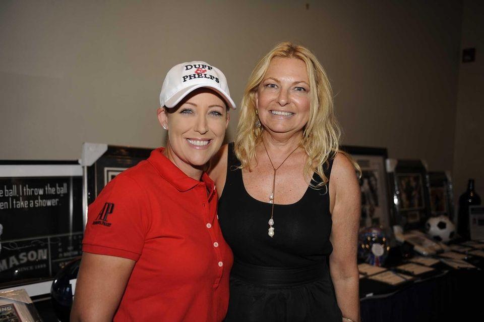 LPGA Championship winner Cristie Kerr, host of the