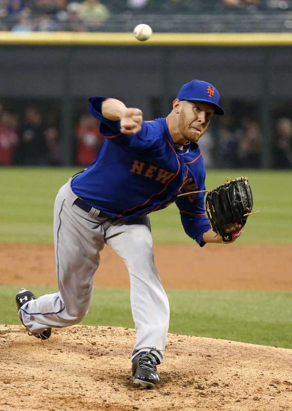 Mets starting pitcher Zack Wheeler delivers during the