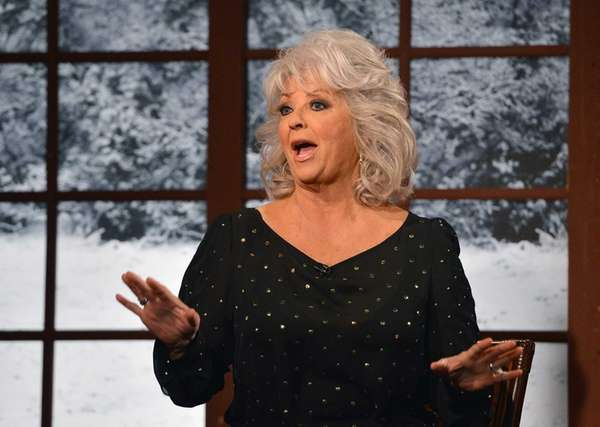 Cooking show host Paula Deen visits the quot;Fox