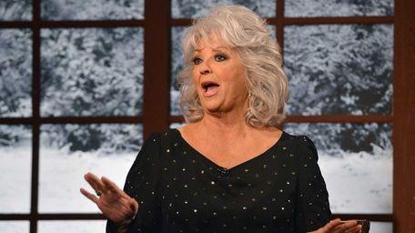 Cooking show host Paula Deen visits the