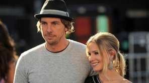 Dax Shepard and Kristen Bell arrive at the