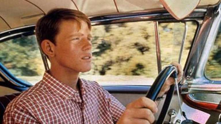 Pictured here is Ron Howard in American Graffiti,a