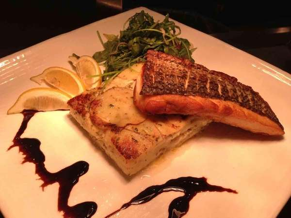 THYME-SEARED LONG ISLAND STRIPED BASS Available at Citi