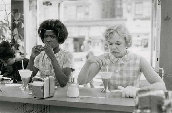 quot;Time of Change (two women at lunch counter),quot;