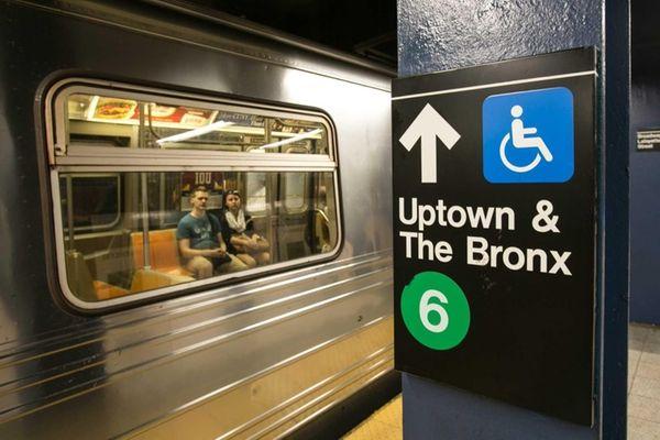 The Broadway Lafayette subway station in Manhattan. (Sept.