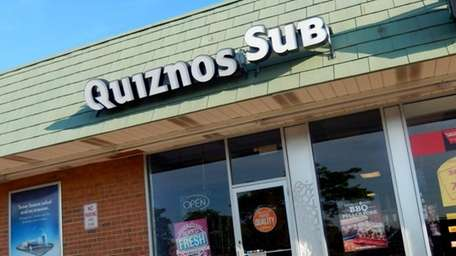 Quiznos in Riverhead on May 23, 2013.