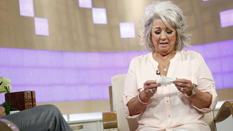 Celebrity chef Paula Deen appears on NBC News'