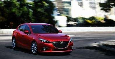 The 2014 Mazda3 features a new look familiar