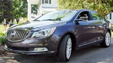 The 2014 Buick LaCrosse sports a comfortable ride