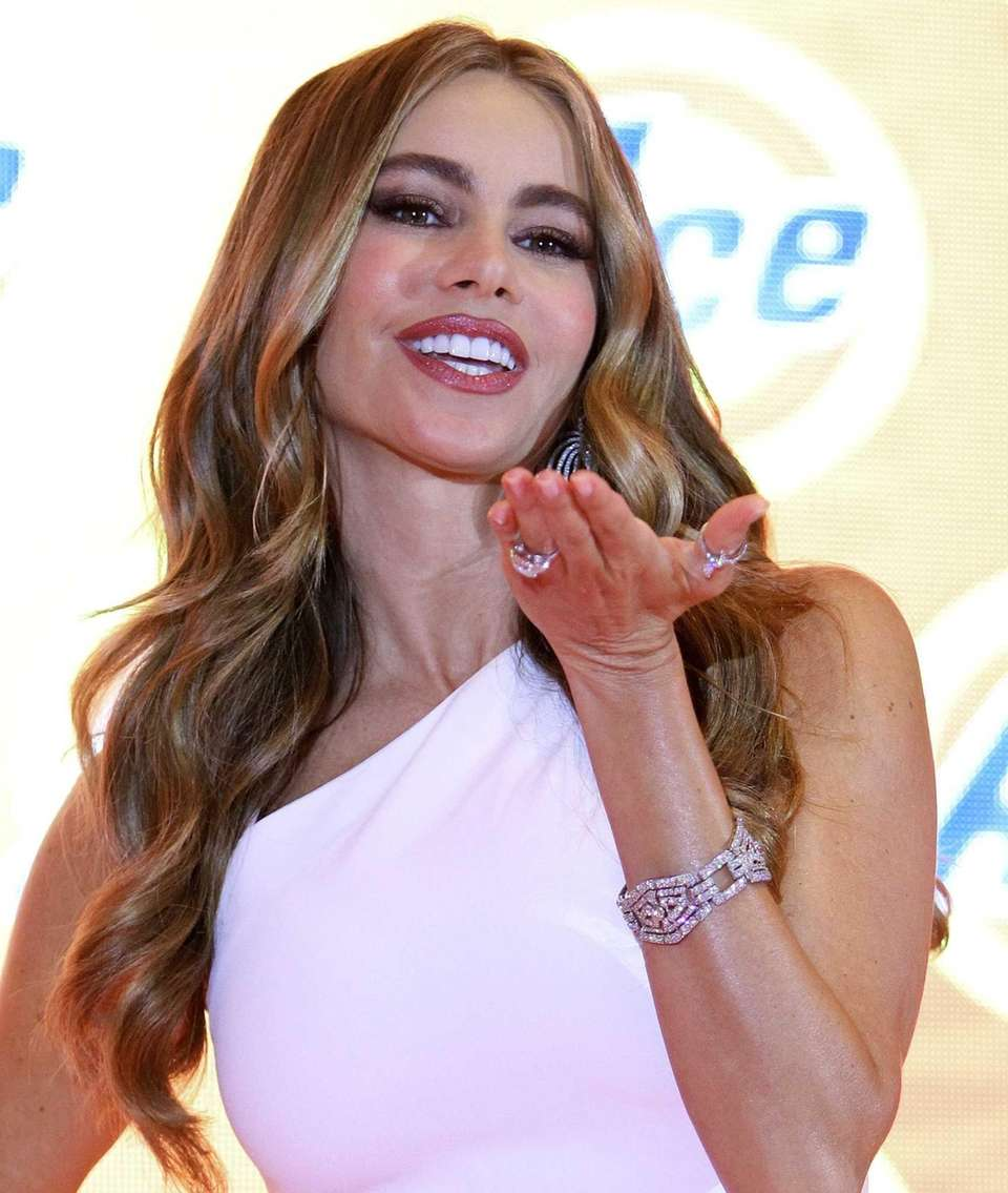 Sofia Vergara in Mexico City. (June 26, 2013)