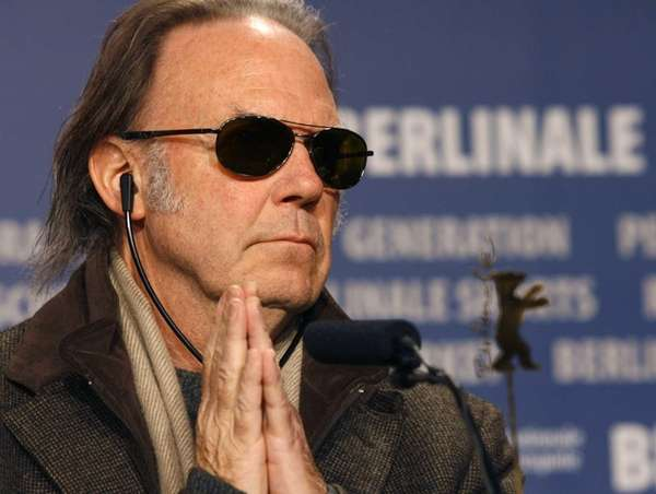 Neil Young was born in Toronto. The two-time