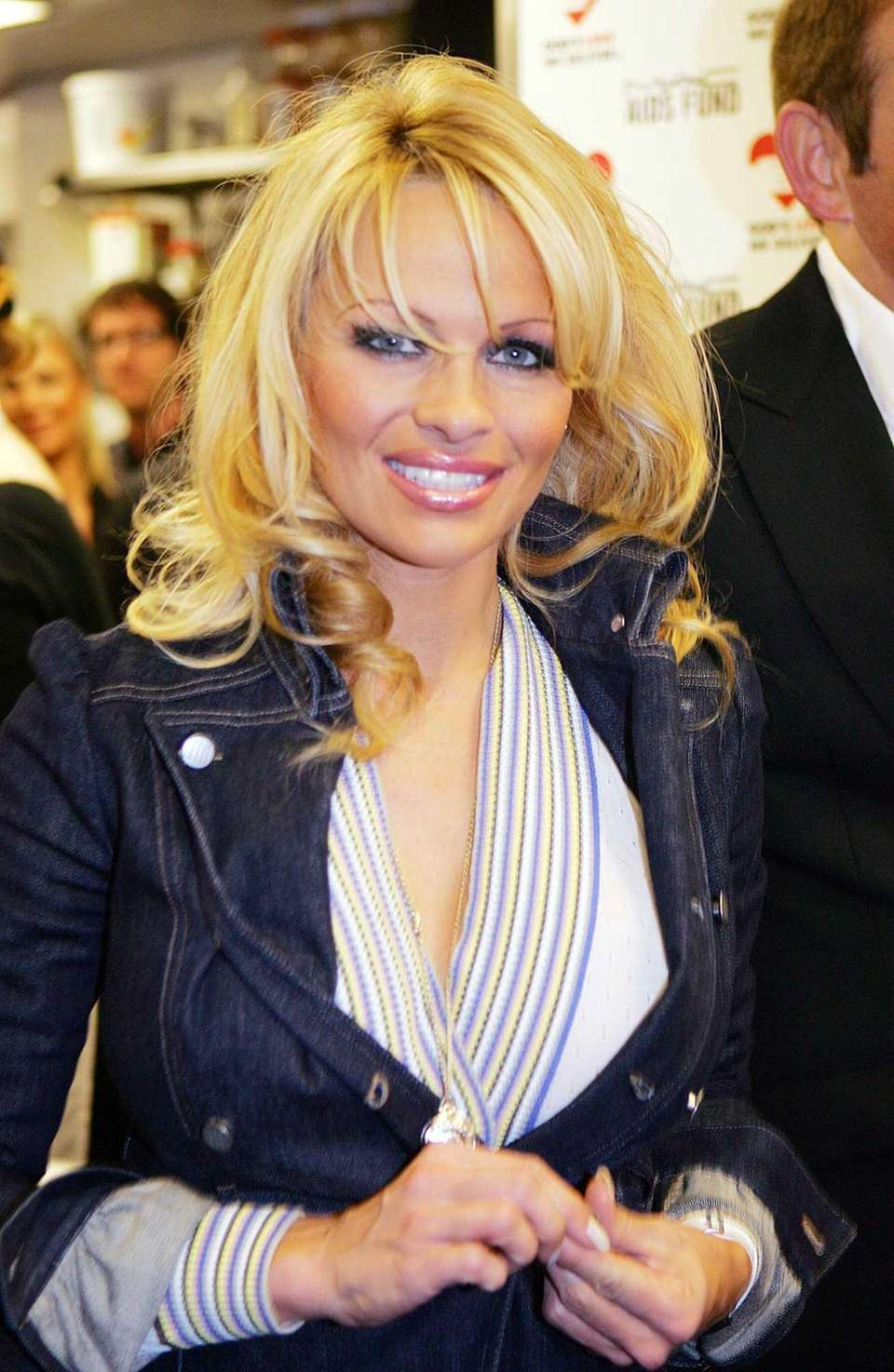 Pamela Anderson was born in Ladysmith, Canada. With