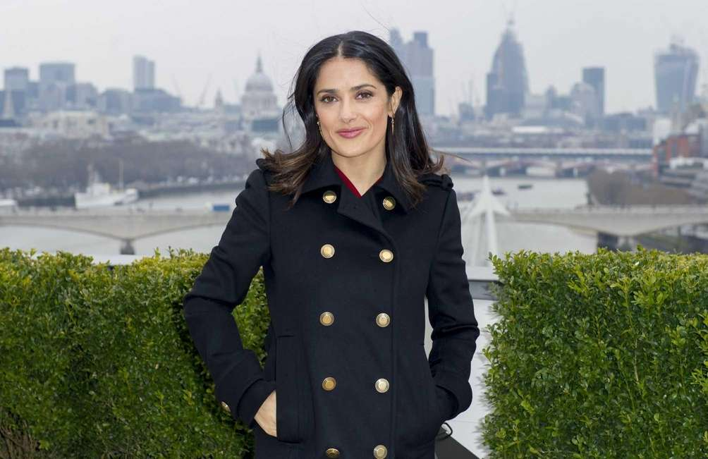 Salma Hayek was born in Coatzacoalcos, Mexico. The