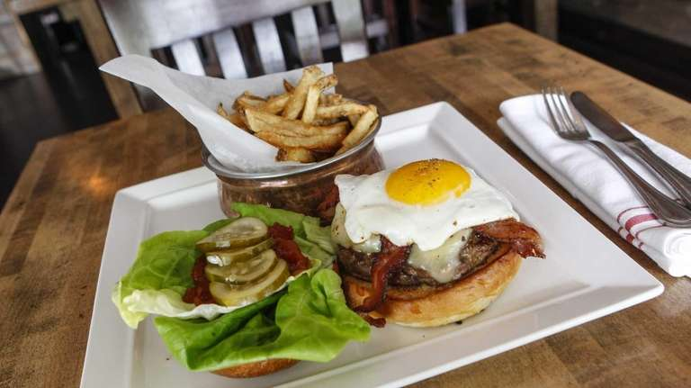 The Cuddy Burger is an excellent choice, served