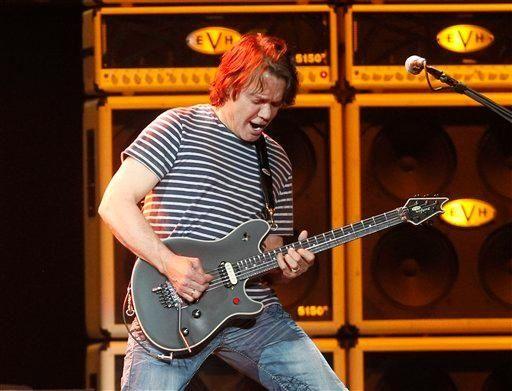 Rocker Eddie Van Halen was born in the