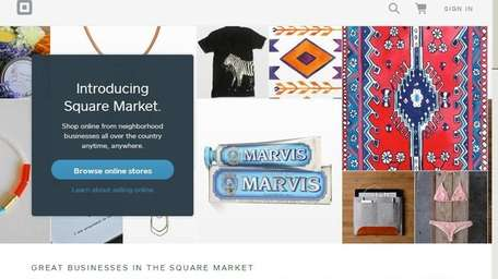 Square Market is a new online storefront and