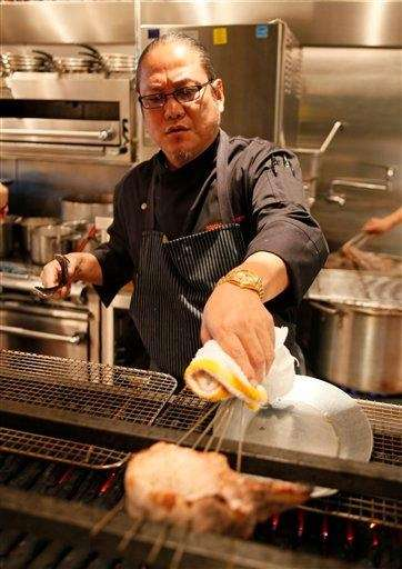 Masaharu Morimoto was born in Japan. He's one