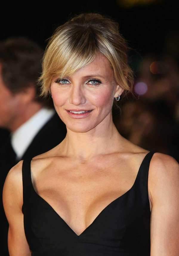 Actress Cameron Diaz attends the