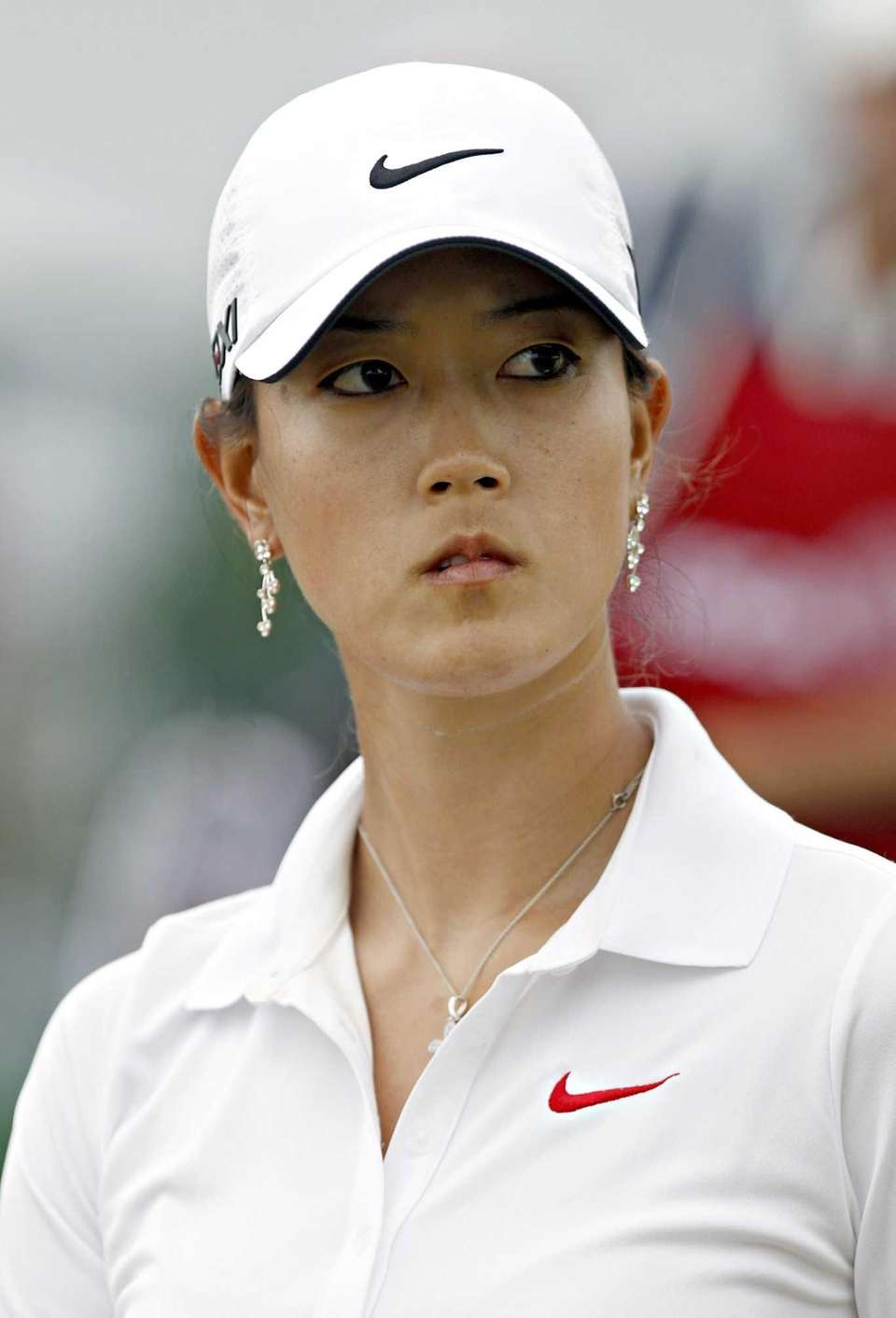 Michelle Wie makes her way from the 1st